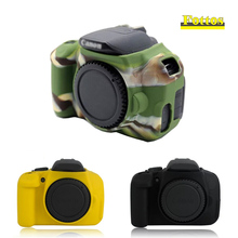 Nice Soft Silicone Rubber Camera Case For Canon EOS 700D 650D 600D DSLR body Protector cover
