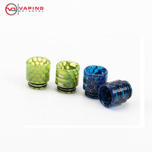 New Fashion 810 Hive Epoxy Resin Drip Tip for TFV8 TFV12 Big Baby Geekvape Griffin 25 E Cigarette Snake Drip Tip Accessories