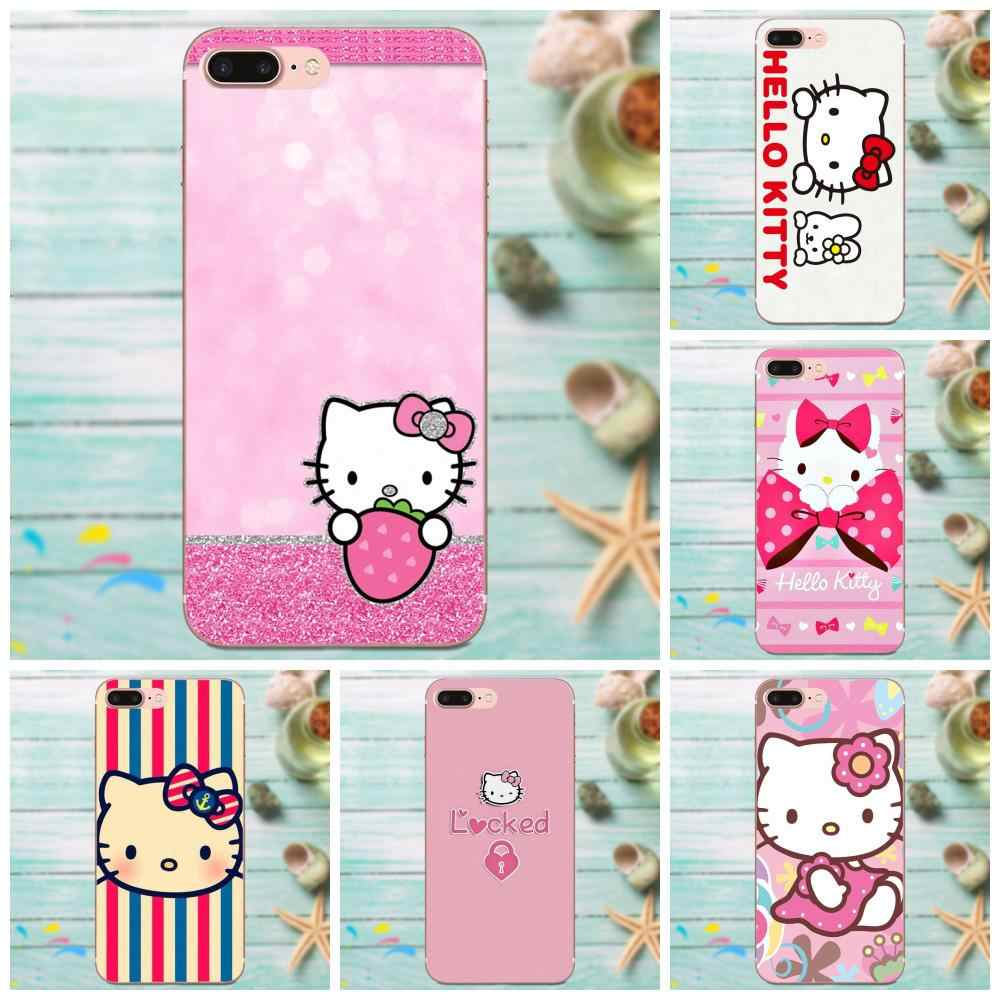 Мягкий чехол для телефона hello kitty Norman для Apple iPhone 4 4S 5 5C 5S SE 6 6S 7 8 Plus X XS Max XR