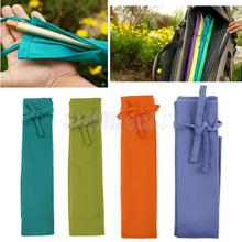 130cm Cotton Waterproof Fishing Rod Bag Single Rod Sleeve Fishing Tackle Fishing Pole Lightweight Outdoor Bags Rod Cases 4 Color