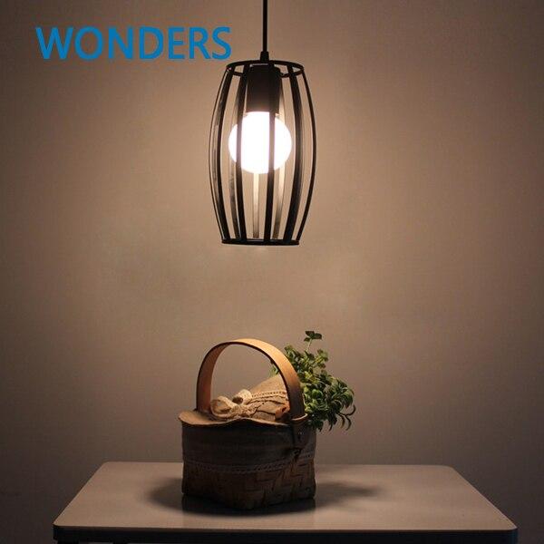 Retro Vintage Pendant Light Industrial Classical Loft Lamps  Bar Cafe Living Room Restaurant Wrought Iron Pendant Cages Lamp<br>