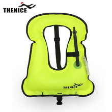 Thenice New Portable Inflatable life jacket Buoyancy vest Snorkeling dive suit Equipment swim For Adult And Children Super light