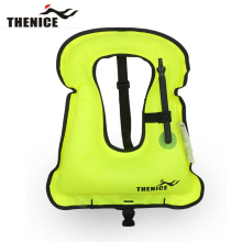 Thenice New Portable Inflatable life jacket Buoyancy vest Snorkeling dive suit Equipment swim For Adult And Children Super light(China)