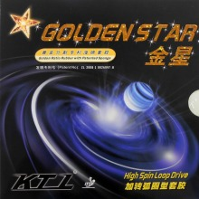 KTL GOLDEN STAR (High Spin Forward Driving Loop) Pips-In Table Tennis  Rubber with Sponge