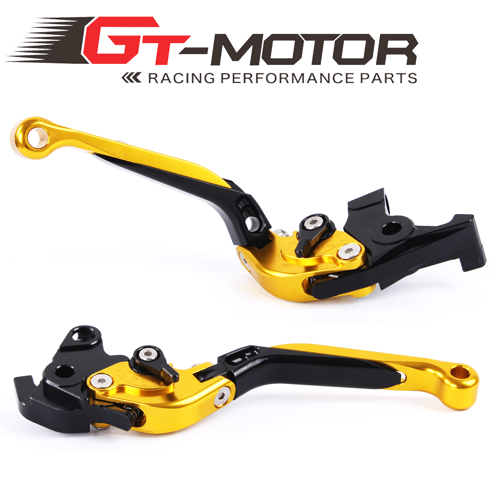 GT Motor - F-XX V-00 Adjustable CNC 3D Extendable Folding Brake Clutch Levers For HONDA VFR800 CBR1100XX/BLACKBIRD ST1300<br><br>Aliexpress