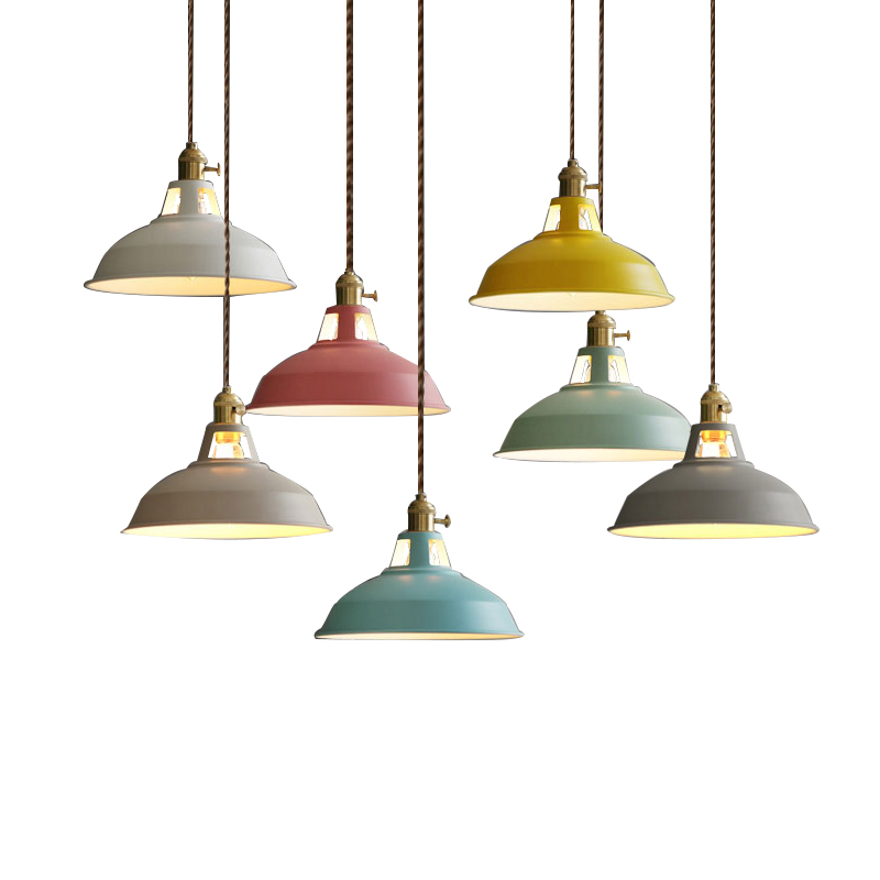 LED Pendant Lights Vintage Industrial Loft Pendant Lamp Luminaire Dining Room Home Lighting Fixtures Hanglamp Retro indoor E27<br>
