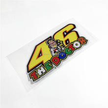 Car Styling ATV SBK Motorcycle Car Sticker Vinyl Decal Reflective for Rossi 46 THE DOCTOR 150x70mm