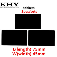 New 3pcs/set Touchpad Clickpad Stickers for ThinkPad T400S T410S T420S T410 T420 T430 T430 T510 T520 T530 W510 W520 W530 series(China)