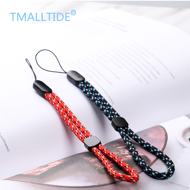 TMALLTIDE 2pcs Universal Mini Hand Wrist Mobile Phone Straps Ring Pendant Cellphone Accessories Anti-slip Keychain Charm Cords(China (Mainland))