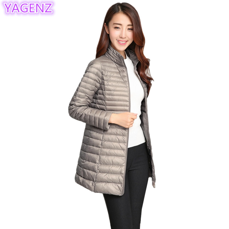 YAGENZ Winter Women Clothing Coat Large Size Women Long Section Cotton Coat Female Zipper Keep Warm Fashion Solid Color Coat 319Îäåæäà è àêñåññóàðû<br><br>