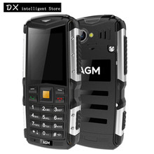 AGM M1 Russian keyboard IP68 Waterproof Shockproof FM Loud Speaker Long Standby 2MP LED flashlight Mobile Phone RU language(China)