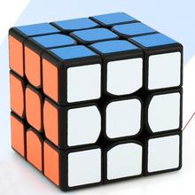 LeadingStar Mini 3rd order Speed cube Brain Teaser Twist Puzzle Toy Magic Cube for for Beginner to Experienced Cubers zk25(China)