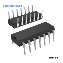 Free shipping! 100pcs/LOT LM324N LM324 IC OPAMP GP 1.2MHZ DIP14(China)