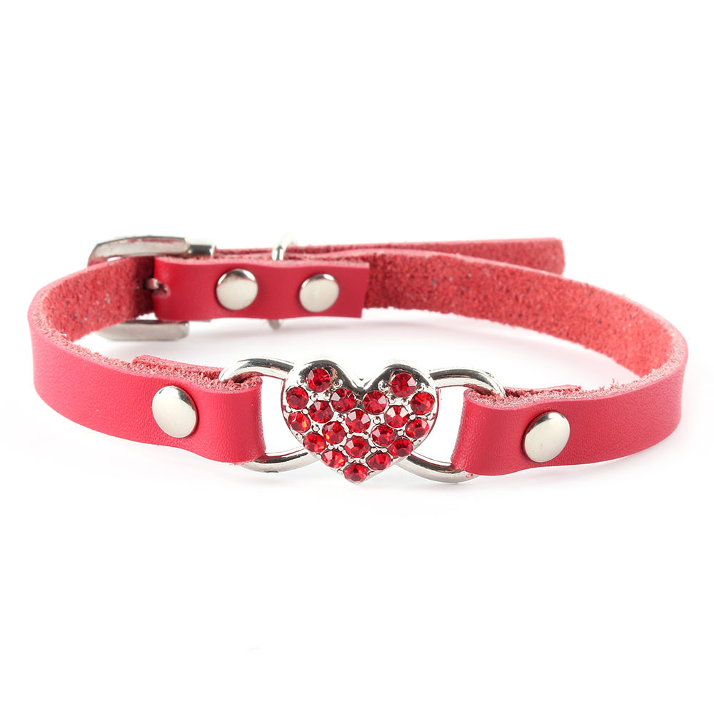 New Bling Personalized Pet Dog Collar Rhinestone Diamond Bucklet XS S M L(China (Mainland))