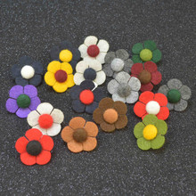 New Fashion Men Brooches of Fabric Flowers Lapel Brooch Pin for Suits Handmade Wedding Jewelry Accessories(China)