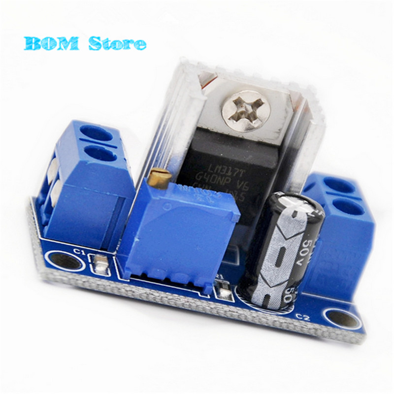 86071 Free shipping 5pcs LM317 DC-DC Converters Circuit Boards Module Adjustable Linear Regulator(China)