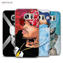BINYEAE Chris Brown Breezy RNB Clear Phone Case Cover for Samsung Galaxy Note 2 3 4 5 7 S3 S4 S5 Mini S6 S7 S8 Edge Plus(China)