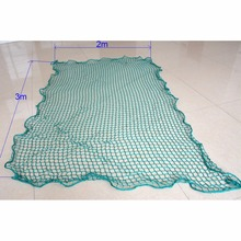 2x3m Green Pickup Truck Cargo Mesh Auto Net Storage Enclosures Bag Organizer Item