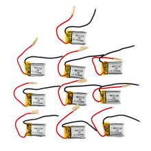 10pcs 3.7V 150mah li-po battery 651723 for Syma S107 S107G S107-19 Skytech M3 Replacement Spare Parts for RC Helicopter