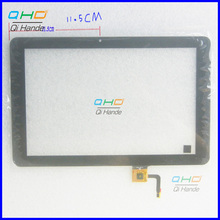 High Quality New For 10.1'' inch Explay sQuad 10.02 3g Touch Screen Digitizer Sensor Replacement ,255x165 mm, 115 mm from camera(China)