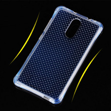 For Xiaomi Redmi Note 4 Case Transparent Air Cushion Shockproof  Ventilate Silicone Phone Cover Bags Soft Clean TPU