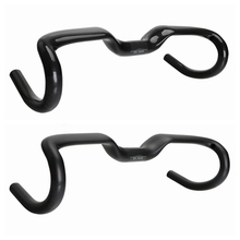 2017 TOSEEK new full carbon fiber road bike handlebar bent handlebar matte gloss 400/420/440mm bike parts road handlebar