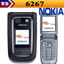 Unlocked Original Nokia 6267 3G Cell Phone Refurbished Free shipping One year Warranty