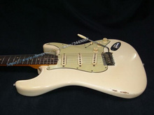 10S Custom Shop Musterbuilder 1963 Jimi Hendrix's Owned Heavy Aged L14985 Electric Guitar White(China)