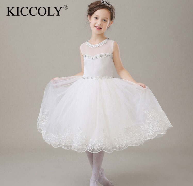 Hot Sale Christmas Super Flower girls dresses for party and wedding Petals Princess Kids Birthday Dress Childrens Clothing<br>