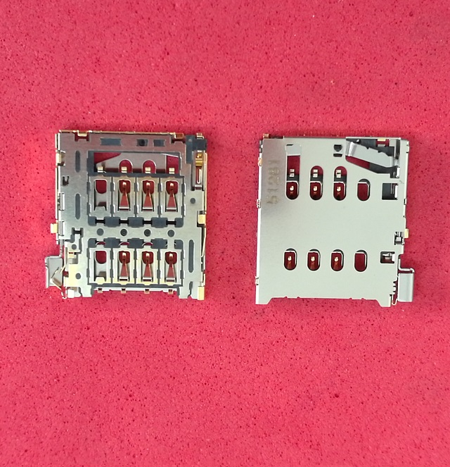 2pcs/lot SIM Card reader Slot Tray Holder Socket Connector Oneplus One 1+ A0001 Replacement Parts