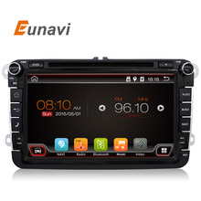 2 Din 8 inch Quad core Android 6.0 vw car dvd for Polo Jetta Tiguan passat b6 cc fabia mirror link wifi Radio CD in dash