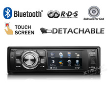 "XTRONS 3""Touch Screen 1 Din Car audio DVD Player Universal One Din Car Audio Detachable Panel Radio dvd automotivo"