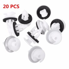 New 20Pcs Universal Useful Plastic Car Auto Interior Door Trim Clips Card Door Panel Clips For BMW BE36 E38 E39 E46 X5 M3 M5 Z3
