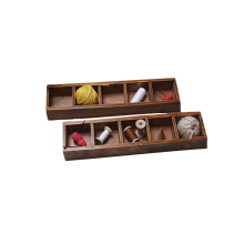 Plant Tray Vintage Mini Wooden Boxes Potted Plants Storage Box Wooden Storage Box Cabinet Home Wood Case Organization