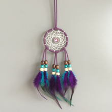 Native American Dream Catcher Car Hanging Decoration Ornament accessary feather hanging free shipping