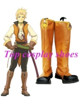 Tales of the Abyss Guy Cecil Imitated Leather Cosplay Boots #NC027 Halloween Christmas festival shoes boots(China)