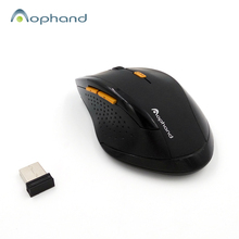 2017 Newest 2.4GHz Wireless 6 Mute Bottons Mouse For Desktop Laptop Notebook Computer,USB Gaming Mouse (1 x AA Battery Operated)