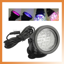 Aquarium 18V 200mA Underwater Multri-Color 36 LEDs Submersible Lamp Spot Light For Water Garden Pond Pool Tank AC220-240V