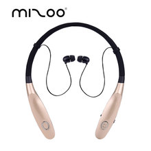 MIZOO Sport Bluetooth Earphone Portable Headphones Wireless Earbuds Hand Free Headset Ear Hook With Mic V4.2 For Smart Phone