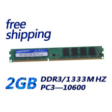 KEMBONA desktop ram memory ddr3 2gb 1333Mhz pc10600 240pin dual channel for A-M-D and Intel PC computer(China)