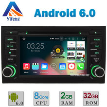 "7"" HD Android 6.0.1 Octa Core CPU 64-BIT 2GB RAM 32GB ROM Car DVD Multimedia Player Radio Stereo GPS For Audi A4 RS4 B9 B7 DAB+"