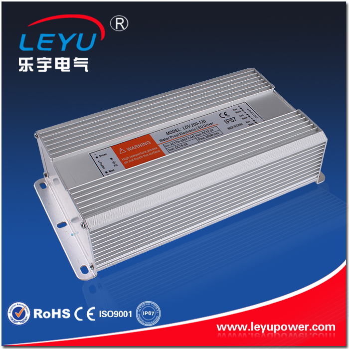 CE RoH approved 200w 5v power supply waterproof high quality LDV-200-5 single output power supply<br>