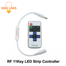 LED Strip Controller DC5-24V Wireless RF LED Controller for Single Color LED Strip Dimming