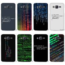 Hot Sale Program Words Clear Case Cover Coque Shell for Samsung Galaxy J1 J2 J3 J5 J7 2016 2017 Emerge(China)