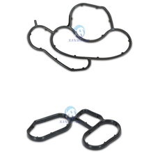 Buy 11427508971 11427508970 New 2PCS Engine Oil Filter Housing Gasket Seal Seal Lubrication System BMW E81 E87 E46 E90 E60 E83
