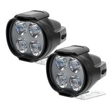 ITimo 1 Pair Motorbike Fog Lamp LED Scooters Spotlight White Working Spot Light 800LM 9-85V Motorcycles Headlight Super Bright