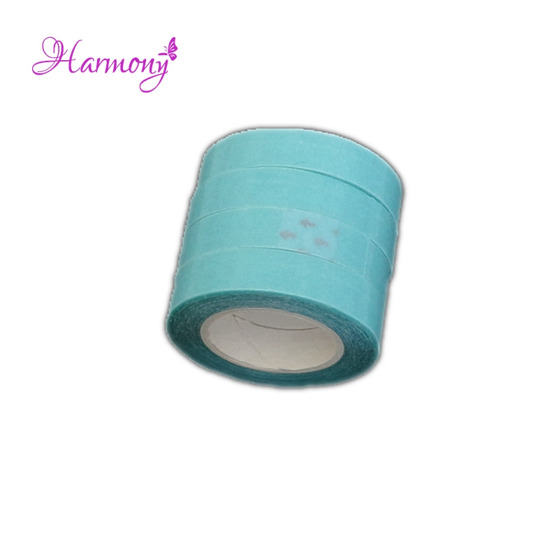 2Rolls1cm-3m-Blue-white-Color-Super-Quality-Hair-Extension-Tape-Double-Sided-Adhesive-Tape-for-PU(1)__