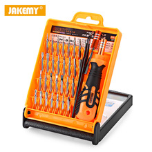 JAKEMY 33 in 1 Precision Screwdriver Set Disassemble For Tablets Phone Computer Laptop PC Watch Mini Electronic Repair Tools Kit