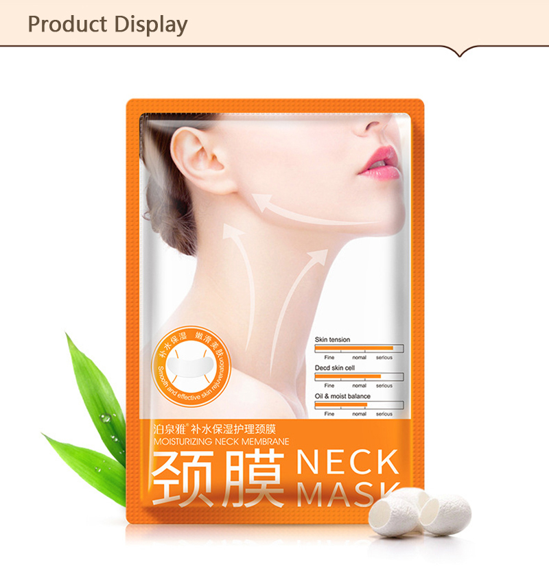 BIOAQUA Anti Aging Neck Mask Anti Wrinkle Skin Care Whitening Nourishing Best Neck Cream Tighten Neck Lift Neck Firming 9