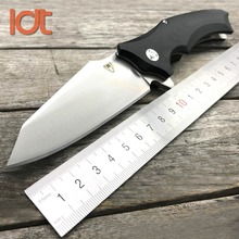 LDT Snake Head XJ10 Folding Knife G10 Handle Two Ball Bearings Flipper Tactical Pocket Knife Camping Outdoor Survival EDC Tools